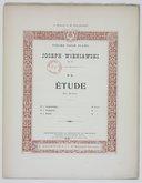 Image from object titled Pièces pour piano par Joseph Wieniawski, op. 51