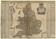 A new map of the Kingdom of England and Wales, containing all the cities and market towns... / by... William Berry