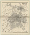 Plan of Edinburgh and Leith with suburbs... constructed for the post office directory / by John Bartholomew, ,...