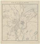 Plan de la ville de Belfort / Par M.J. B. Schmitt, ...