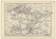 Eisenbahn-Karte von Böhmen, Mähren, Schlesien und den angrenzenden Ländern / Gezeichnet von J. Beer ; Druck von Eduard Sieger, ...