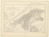 Map of the province of Canterbury, New Zealand, shewing the pasturage runs / compiled from official surveys... and from recent explorations by Dr Haast ; and Dr Hector ; by J. S. Browning...