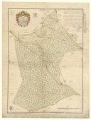 Plan des bois en contestation entre Mme de La Roche Aymon et Mrs Dauphin / levé par Louis Saladin, ,... (1er août 1741. )