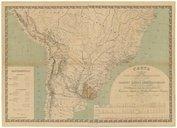 Carta de la red de los ferrocarriles sud-americanos y del trazado de las grandes lineas internacionales... / por el ingeniero don Juan José Castro ; y con el concurso del profesor de dibujo don Felix Elena, 1893