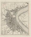 Plan de la ville de Bordeaux / dessiné et gravé par Farge ; écrit par Vidal