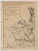 A Topographical Map of the County of Louth : To the Right Hon.ble and Hon.ble the Noblemen Knights of the Shire and Gentlemen of the County of Louth... / By Matt[he]w Wren