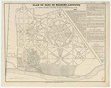 Plan du parc de Maisons-Laffitte : réduit d'après le plan général déposé à l'étude de Me Aumont-Thieville, avec addition des maisons, pour servir de guide aux acquéreurs dans le parc / Champion del. ; lith. P. Bineteau