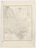 Carte du département de la Gironde avec ses trois chemins de fer projetés ou exécutés / dressé et gravé sur pierre J. T. Turski ; lith. de Constant