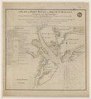 plan of Port Royal in South Carolina survey'd by Cap.n John Cascoigne