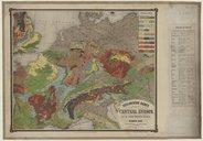 Geologische Karte von Central. Europa... / bearbeitet von Heinrich Bach....