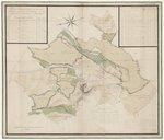 Plan Géométrique de tous les héritages dépendant des Domaines des Etats, le Fournioux et Chanteloup à Monseigneur. Echelle 70 perches [=Om. 157 ; 1 : 3 200 environ]...Le tout levé à la mesure de 22 pieds pour perche et cen...