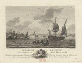 Le port de La Ciotat vu en dehors des môles dans le sud est / N[icolas] Ozanne del[ineavit] ; Y. Le Gouaz sculp[sit]