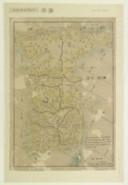 [Carte routière de la Corée] / [par Shihei Hayashi]