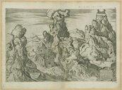 Sanctus Mons Synai / L. Bertelli ; Io. Baptista Fontana incidebat anno CIDIDLXIX