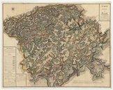 Image from object titled Carte du Comté de Bitche . Levée par le Sr Jaquet, chevalier de l'ordre militaire de St. Louis et aide major des ville et chateau de Bitche en l'année 1749