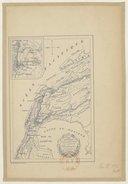 Carte itinéraire de Fernand Cortès et de ses lieutenants au Mexique / dressé par G. Marcel