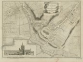 A Plan of the Town of St. Albans, in Hartfordshire / By J. Andrews and M. Wren ; J. Chev.rs Sclpt