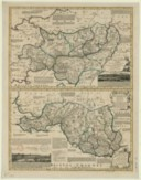 Accurate Map of Carmarthen Shire Drawn from an Actual Survey, with various Improvements. Illustrated with Historical Extracts relative to the Air, Soil, Natural produce, Trade & Manufactures / By Tho. Kitchin Geographer ;...