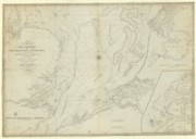 A New and Accurate Chart of the Southern Part of the North Sea, Comprehending the Eastern Coasts of England, from Dungeness to Lynn Deeps and the Opposite Coasts of France and Holland from Cape Grisnez to the Texel / Drawn...