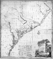 A map of South Carolina and a part of Georgia containing the whole Sea-coast, all the islands, inlets, rivers, creeks, parishes, townships, boroughs, roads and bridges, as also several plantations with their proper...
