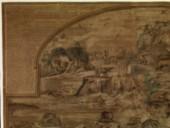 [Mosaïque antique, dite Barberini, représentant l'inondation du Nil, formant jadis le pavage de l'abside du Temple de la Fortune à Préneste, conservée actuellement au palais baronal Barberini (Museo Prenestino-Barberini),...