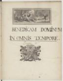 Image from object titled Benedicam Dominum Pseaume 33e (manuscrit autographe)