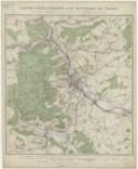 Carte d'Excursions aux Environs de Nancy par Albert Barbier, ... 4e édition revue et mise à jour 1 : 50 000