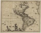 Novissima et accuratissima totius Americae / descriptio per Gerardum ; a Schagen