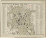 Image from object titled Plan de Nancy à l'échelle de 1 : 10 000 / [Par] P. Lorette...