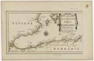 Les costes des royaumes de Fez, Alger, Tunis et Tripoli en Barbarie suivant les routiers et portolans de divers pilotes / par P. Du Val, ...