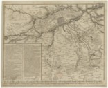 Plan of different Movements of ye army of ye Allies, under Prince Eugene of Savoy, and of ye French Army, under Marshal Villars ; from ye beginning of ye Campaign, to ye 24 th of July 1712, when ye French attacked ye...