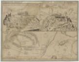 Fac-simile des dessins et plans de l'Acropole d'Athènes communiqués à F. Fanelli par les ingénieurs qui dirigèrent le siège de cette forteresse en 1687