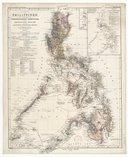 Karte der Philippinen zur Darstellung der ethnographischen Verhältnisse... / entworfen von Prof F. Blumentritt ; bearbeitet... von B. Domam