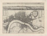 A new map of the citties of London, Westminster and ye borough of Southwarke, with their suburbs... / truly and carefully delineated. W. Hollar fecit...