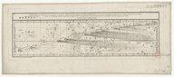 Carte céleste qui représente la route apparente de la grande comète de 1799 découverte le 8 août... Cette première (- seconde) carte contient les observations faites dans la 1ere (-seconde) branche de son orbite... / gravé...