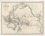 Carte de l'Océanie ou Cinquième Partie du Monde / Dressée par Brieux, Géographe, d'après les fameuses Cartes d'Arrowsmith, Weylor et Faden