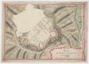 Image from object titled Plan et projet du Château de Carol