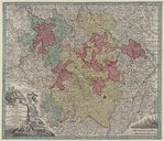 Image from object titled Mappa geographica ducatus Lotharingiae... / [M. Seutter]