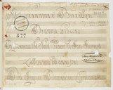 Image from object titled Giannina e Bernardone // Dramma Giocoso // Rapresentata Nel Nobil Teatro di San Samuel // L'Auttuno dell'anno 1781 // Del Signor Domenico Cimarosa