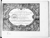 Image from object titled Troisiesme livre des Pseaumes de David, mis en musique a III parties par Claud .[e] Le Jeune,...