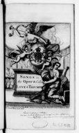 Image from object titled Songs in the new opera call'd Love's triumph, [paroles du Cardinal Ottoboni, musique de Cesarini et Francesco Gasparini], as they are perform'd at the Queens theatre. [pr v. et b. en part, et fl.]