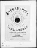 Image from object titled Sörgemarsch : til professor A. M. Schweigaards begravelse / komponeret af Carl Arnold ; arr. for piano firehaendig af Otto Winter-Hjelm