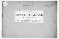 Image from object titled Sei Ariette italiane con accompagnamento di cembalo o arpa