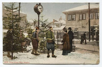 Image from object titled Christmas trees sale