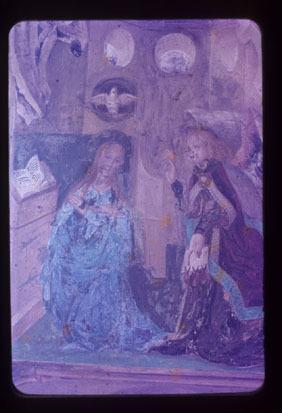 Image from object titled Črna pri Kamniku - Cerkev sv. Primoža, freske, fotografija