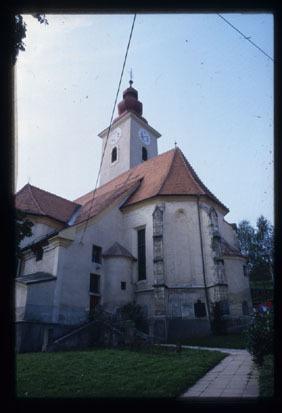 Image from object titled Kamnica pri Mariboru - Cerkev sv. Martina, fotografija