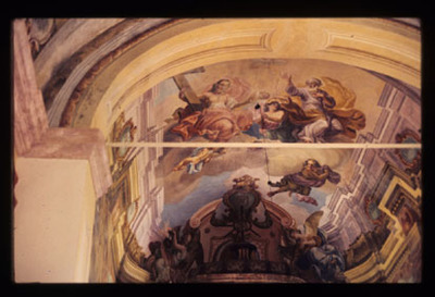 Image from object titled Slake - Cerkev Device Marije na Pesku, fotografija