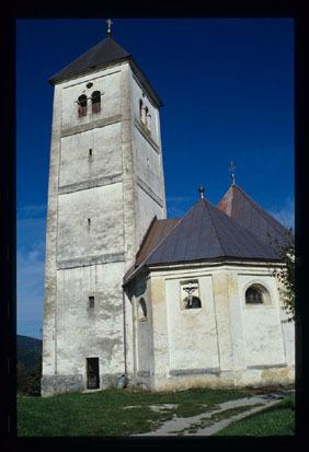 Image from object titled Kočevske Poljane - Cerkev Marije Pomočnice kristjanov, fotografija