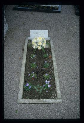 Image from object titled Livold - Grob talca na pokopališču, fotografija