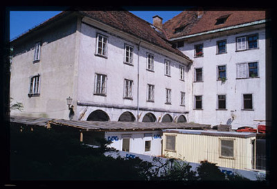 Image from object titled Ljubljana - Uršulinski samostan, poslovni prostori URSKD, fotografija